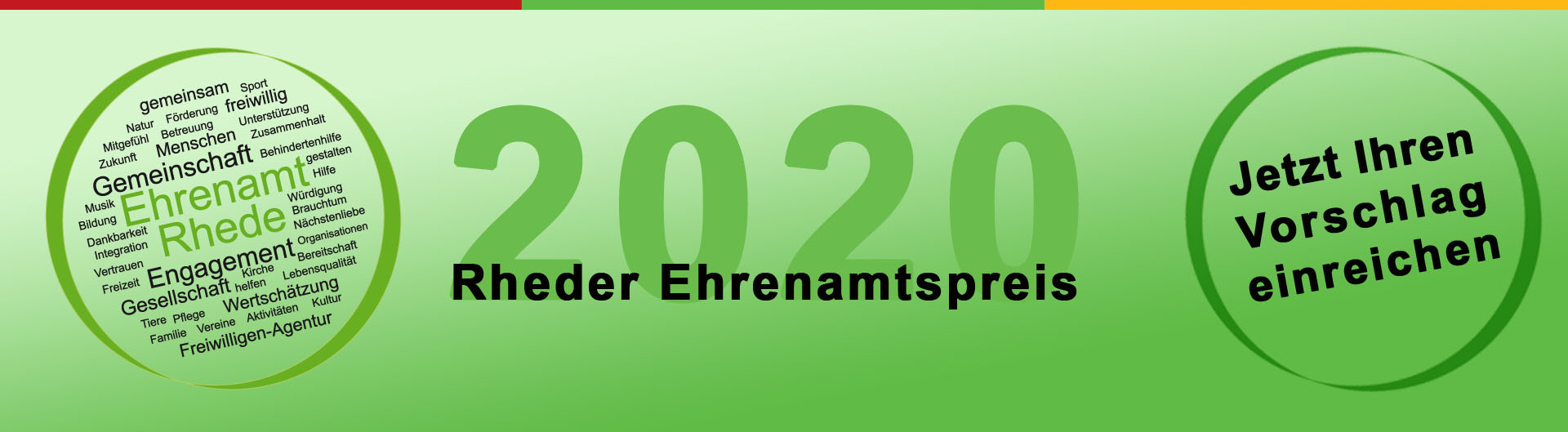 Ehrenamtspreis 2020