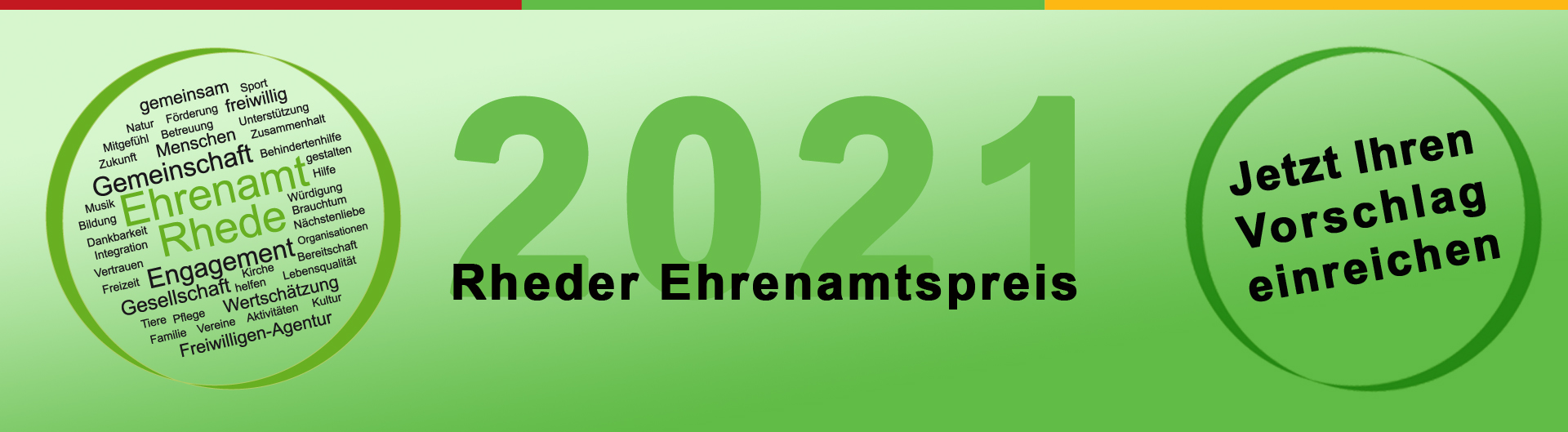 Ehrenamtspreis 2021
