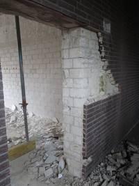 Mauer innen©Stadt Rhede
