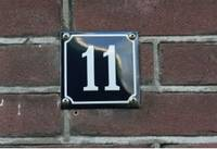 Hausnummer 11©Stadt Rhede