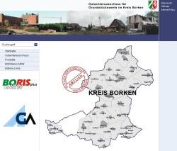 Gutachterausschuss - Kreis Karte©Kreis Borken