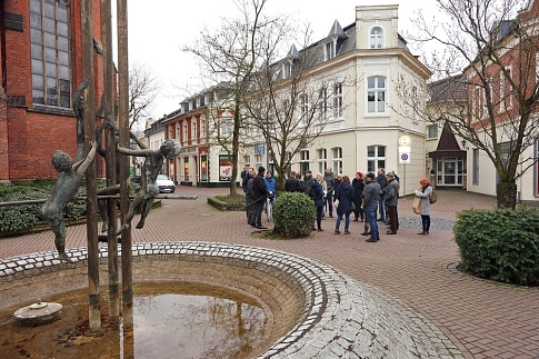 STEK Stadtrundgang am 16.03.2019 Kinderbrunnen